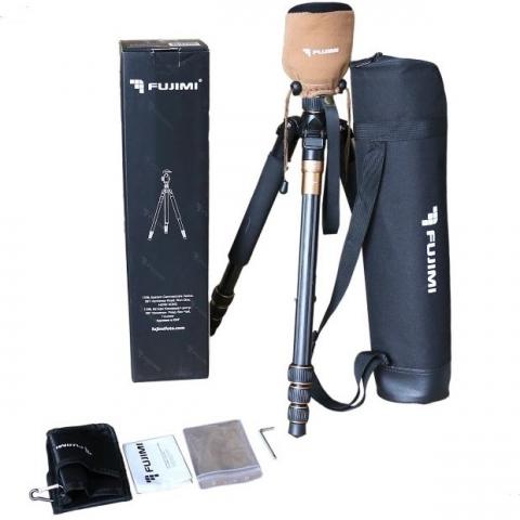 Fujimi FT100C компактный карбоновый штатив для фото- и видеокамер