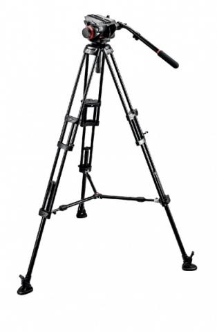 Manfrotto 546BK штатив с видеоголовкой 504HD для видеокамеры