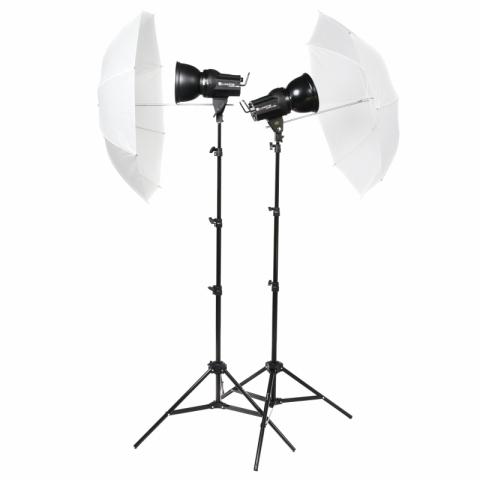 Lumifor AMATO 100 CLASSIC KIT комплект импульсных осветителей 2х100 Дж