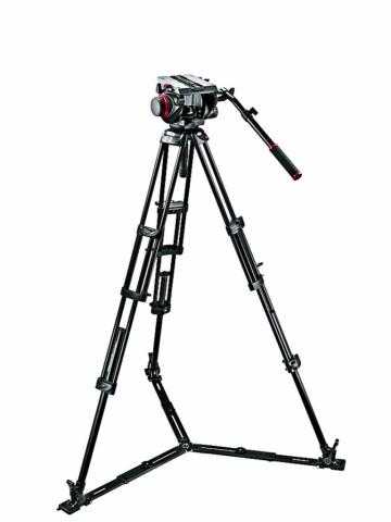 Manfrotto 509HD,545GBK штатив с видеоголовкой для видеокамеры