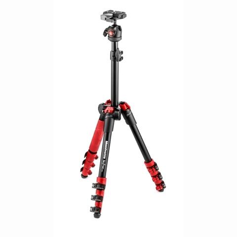Manfrotto MKBFR1A4R-BH Befree One штатив и шаровая головка для фотокамеры (красный)