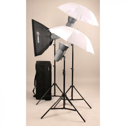 Visico VL PLUS 300 Creative KIT комплект импульсного света