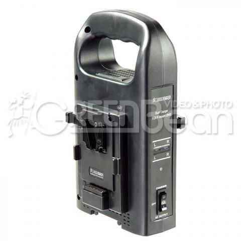 GreenBean DualCharger V3A V-mount зарядное устройство