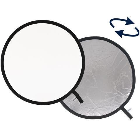 Lastolite LR3031 отражатель серебряный/белый 75 см