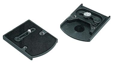 Manfrotto 410PL ACCESSORY PLATE алюминиевая быстросъемная площадка для штативной головы