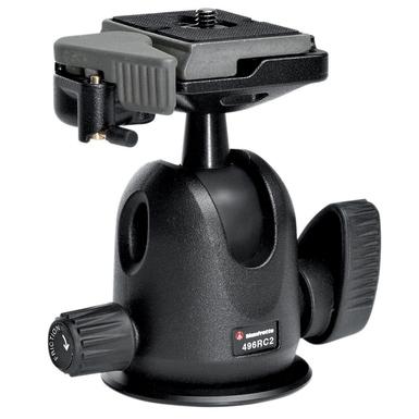 Manfrotto 496RC2 COMPACT BALL HEAD W/RC2 штативная голова с быстросъемной площадкой