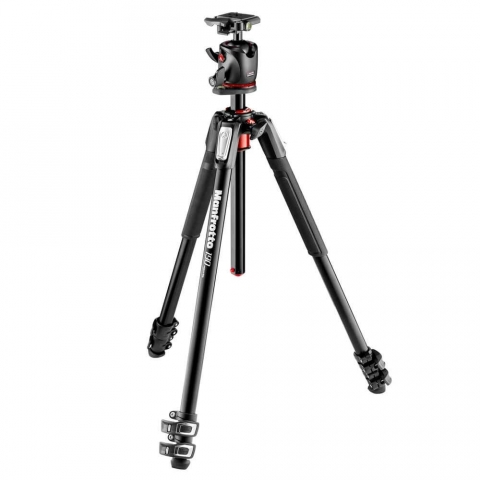 Manfrotto MK190XPRO3-BHQ2 штатив и шаровая головка для фотокамеры