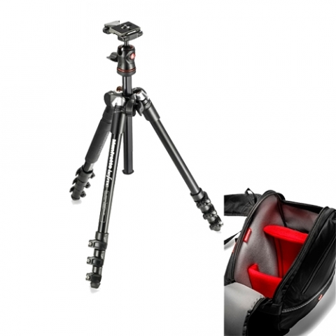 Manfrotto MKBFRA4-BH/MB MA-S-A2 комплект штатив с головой и сумка-слинг для камеры