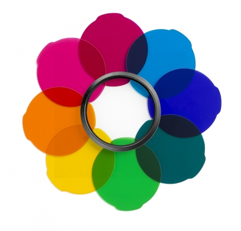 Manfrotto MLFILTERCOL цветные гелевые фильтры для приборов Lumie