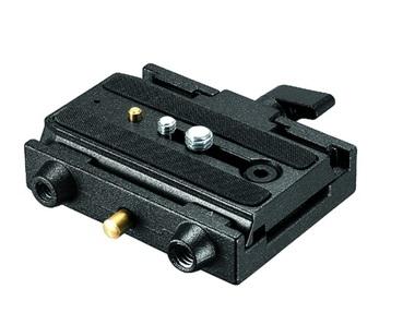 Manfrotto QR ADAPTER W/SLIDING PLATE алюминиевый адаптер с быстросъемной площадкой