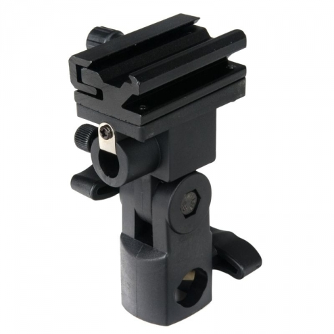Lumifor LFLH-01 держатель для установки вспышки и зонта на студийную стойку