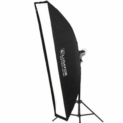Lumifor LS-30180 ULTRA стрипбокс 30х180 см с адаптером Bowens