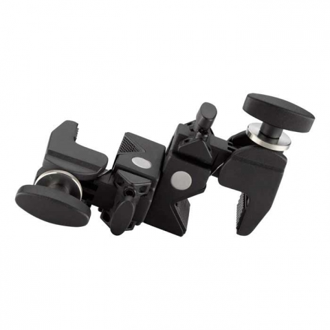 Kupo DOUBLE Convi Clamp-Black W/KCP-7SDL Saddle двойной зажим с кареткой