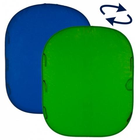 Lastolite LC5687 фотофон складной хромакей синий и зеленый 150х180 см