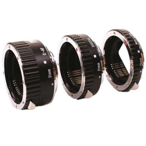 Phottix AF (61255) набор из 3 металлических колец для макросъемки система Nikon