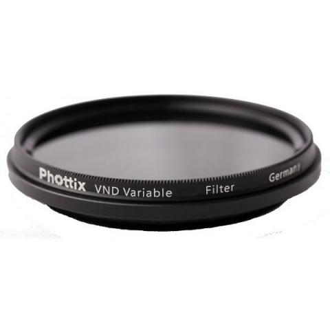 Phottix VND Variable Filter (45111) фильтр нейтрально серый регулируемый 52 мм