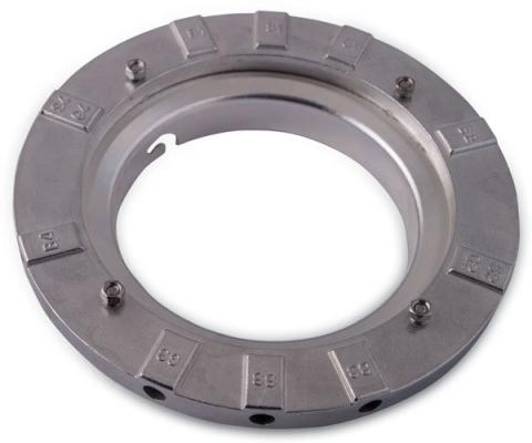 Rekam SEC кольцо-адаптер для установки софтбоксов на студийные осветители байонет типа Elinchrom