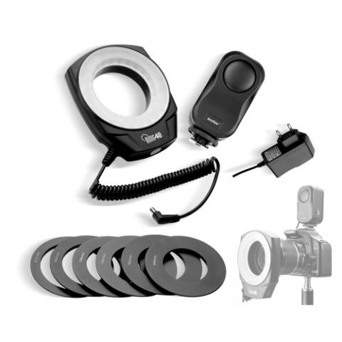 Grifon LED-48 осветитель для фотокамеры кольцевой в комплекте