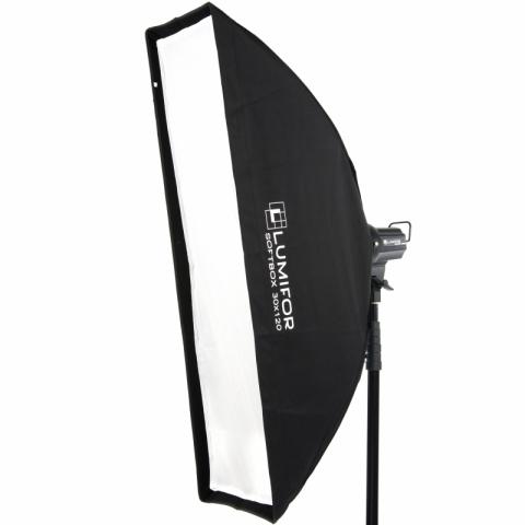 Lumifor LS-30120 ULTRA стрипбокс 30х120 см с адаптером Bowens