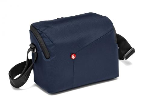 Manfrotto NX-SB-IIBU сумка наплечная для фотоаппарата NX II синяя