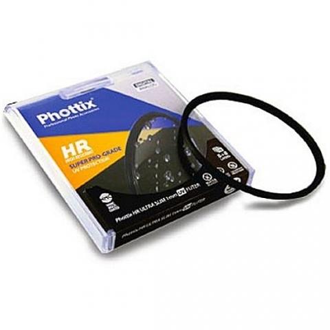Phottix Super Pro-Grade HR Ultra Slim 1 мм UV (40205) УФ-фильтр с нанопокрытием 67 мм