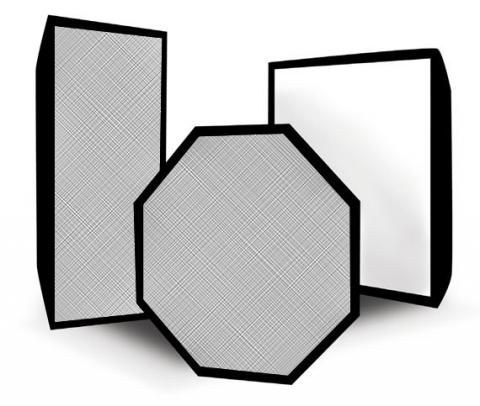 Rekam SBO 90 жаропрочный октобокс серебряный 90 см