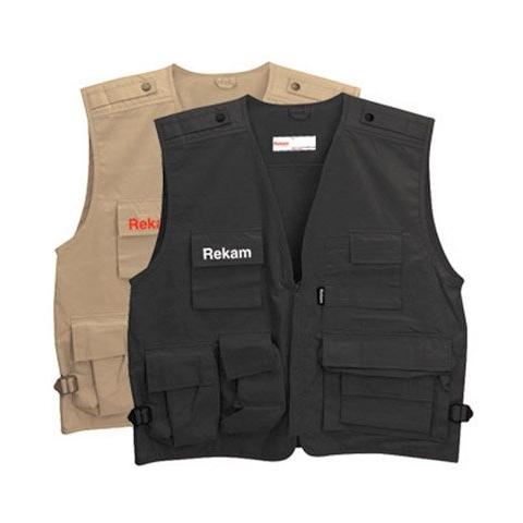 Rekam Vest 10 XL фотожилет  черный
