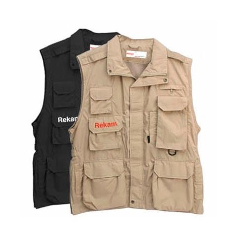 Rekam Vest 14 XL фотожилет черный