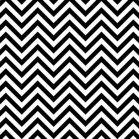 Ella Bella FADELESS CHEVRON BLK/WHT (57715) фон бумажный шеврон зебра 120х1500 см