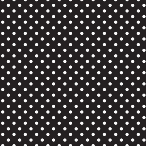 Ella Bella FADELESS CLASSIC DOTS BL AND WHT (55845) фон бумажный белый горошек 120х300 см