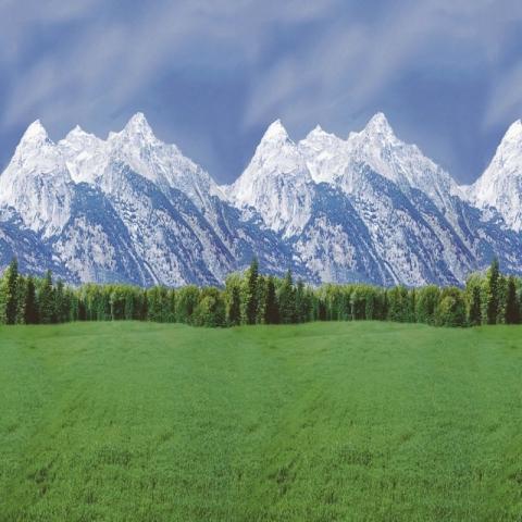 Ella Bella FADELESS MOUNTAINS (56875) фон бумажный горы 120х1500 см