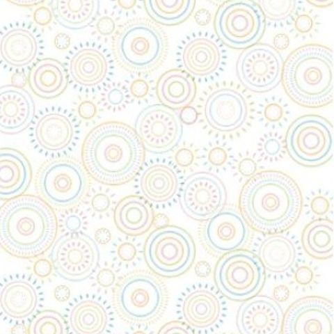 Ella Bella PHOTO BACKDROP HOPSCOTCH CIRCLES (2515) фон бумажный загадочные круги 120х180 см