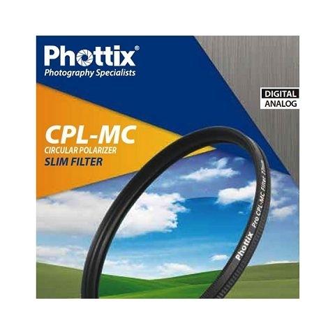 Phottix CPL-MC Slim (43476) фильтр поляризационный 72 мм