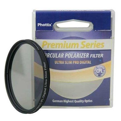 Phottix Premium Series C-PL Slim PRO Digital (43460) фильтр поляризационный 72 мм