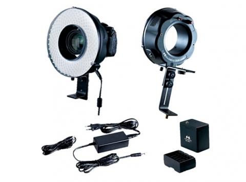 Falcon Eyes DVR-240D кольцевой светодиодный осветитель