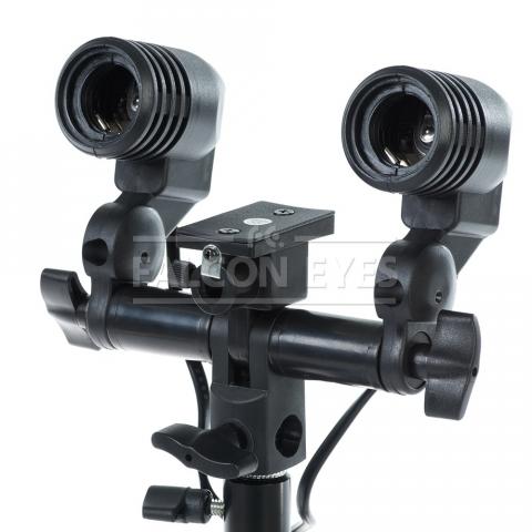 Falcon Eyes LH2-27SU патрон для двух ламп-вспышек и зонтика