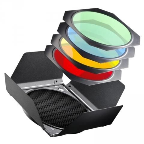 Raylab RBD-2 шторки с цветными фильтрами для рефлектора 7 дюйм/18 см