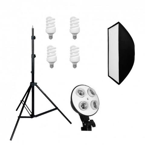 Grifon FLU-112 SB набор люминесцентного освещения 112 Вт с софтбоксом
