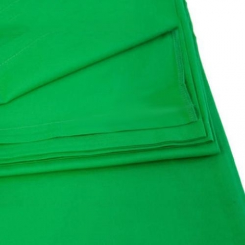MingXing 68016 Solid Color Background Green фон тканевый зеленый 3x3 м