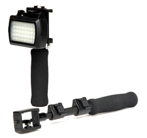Raylab RIP-POD держатель для IPHONE с рукоятью и светодиодным осветителем