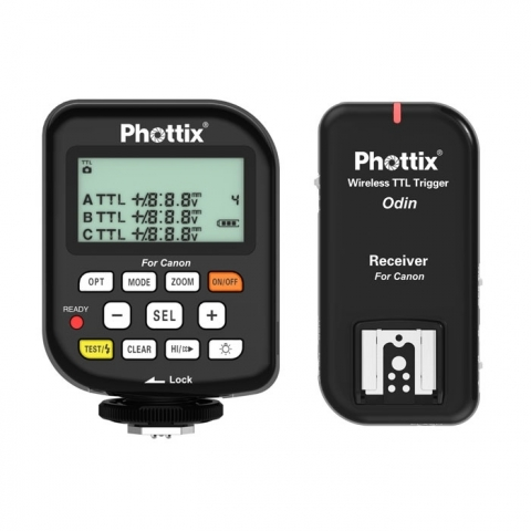 Phottix Odin (89050) комплект радиосинхронизаторов TTL для Canon