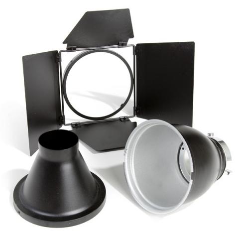 Bowens BW-1882 базовый комплект рефлектор 60 град. со шторками и тубусом