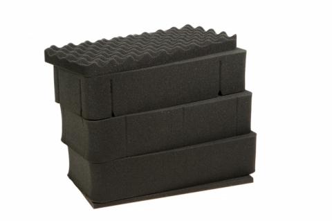 Profcase Foam PRC 36.17-5/25 насеченный адаптивный поропласт для кейса
