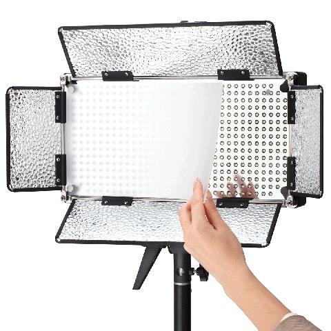 Fujimi FJLED-500A универсальный свет 5265 люкс для фото- видеосъемки