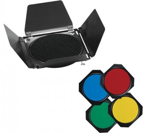 Visico Barndoor BD-200 шторки в комплекте с фильтрами и сотами