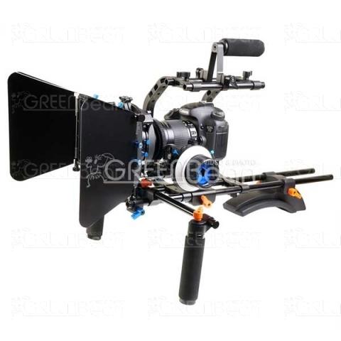 GreenBean DSLR RIG 02 плечевой упор в комплекте для видеокамеры или DSLR