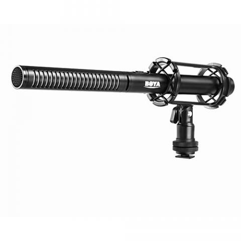 Boya BY-PVM1000 профессиональный конденсаторный микрофон Пушка