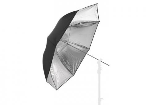 Fotokvant (1071-3) фотозонт серебряный глянцевый 50 см
