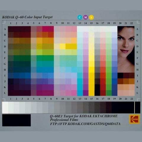 Kodak IT8.7/1 target 4