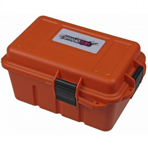 OffRoad ORT Dry 912 герметичный ящик для мелких принадлежностей оранжевый 220х135х120 мм